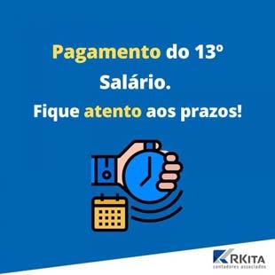 Pagamento do 13o salário