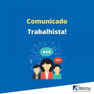 Comunicado Área Trabalhista